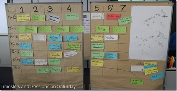 NET Open Space Time Wall
